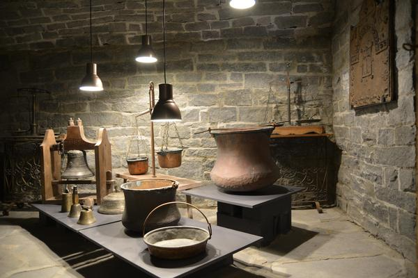 Progetto di allestimento di Maison Musée Berton (La Thuile, 2015-2019)