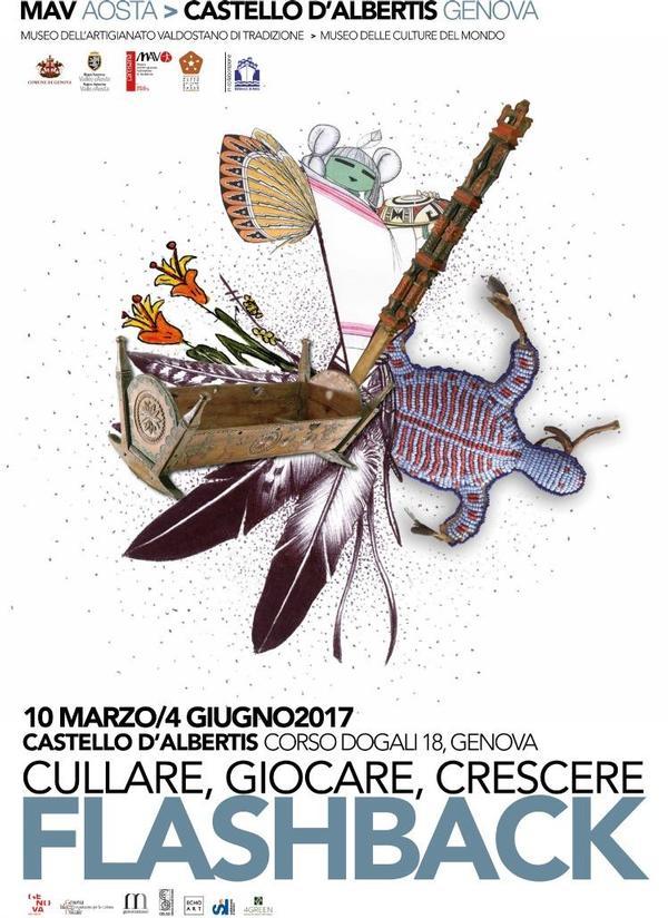 """""""Flashback – cullare, giocare, crescere"""" (Genova, 10 marzo - 4 giugno 2017)"""