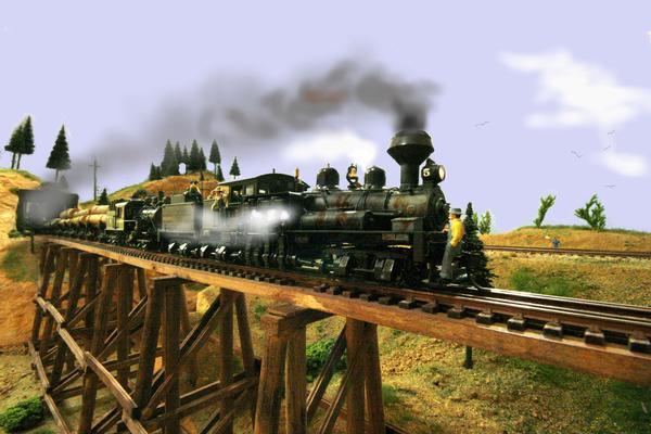 Giochiamo con i trenini