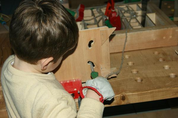 La mia maschera di legno - Atelier di Falegnameria Didattica