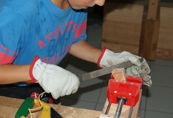 Laboratori didattici per bambini alla Fiera delle scuole di artigianato di Antey