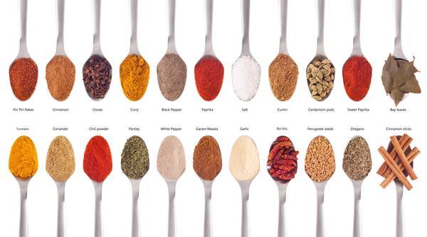 Spezie: top 10 contro i chili in eccesso