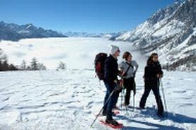 Escursioni guidate con racchette da neve