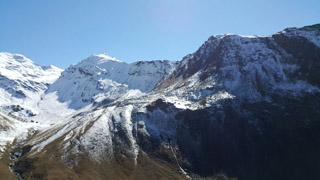 Trekking intorno al Monte  Bianco